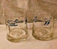 New listing B C Comic Johnny Hart Anteater/Ardvark Ants Pinched Drinking Glass Juice/Rocks 2