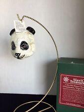 """""""Panda-mini"""" Slavic Treasures 00-290A Small Wonder Series Ornament -Nib"""