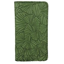 GINKGO Oberon Design Leather CHECKBOOK COVER/Holder Fern-Green fir trees CKM37