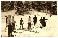 CPA Sports d'hiver Skieurs animé