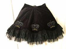 Black Peace Now (BPN) Crown Lace gothic lolita punk aristocrat Skirt