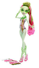 MONSTER High Venere McFlytrap Swim DOLL bambola da collezione raro y7304