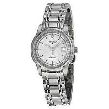Longines Saint Imier Silver Dial Stainless Steel Ladies Watch L25634796