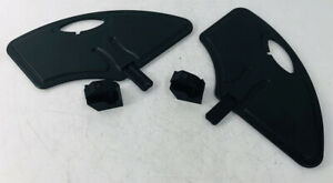 """Quickie Wheelchair Side Wheel Guards With 1"""" Round Mounts Left Right Clothing"""