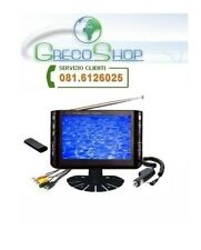 """Tv LCD Monitor 7"""" per Videosorveglianza/Auto DVB-T"""