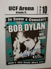 """BOB DYLAN - HAND SIGNED 18"""" X 24"""" PROMO POSTER"""