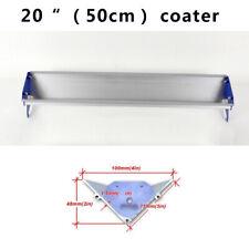 2pcs 20 50cm Screen Printing Emulsion Scoop Coater Blue Color Aluminum Tool