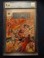 Harbinger #0 (Valiant 1992) 💥 CGC 9.6 White Pg 💥 Pink Variant! Mail-Away Comic