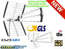 ANTENNA TV DIGITALE TERRESTRE 25 ELEMENTI UHF DVB-T2 HD ALTO GUADAGNO LTE 21-60
