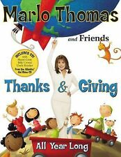 Thanks & Giving Book and CD: All Year Long-ExLibrary