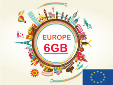 tarjeta orange mundo 6gb europa europe eu ue roaming europa 6giga go europe sim