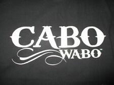 SAMMY HAGAR - CABO WABO CANTINA Mexico TEQUILA (LARGE) T-Shirt VAN HALEN