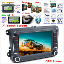 "7"" Touch Screen GPS Player Car Stereo MP5 Bluetooth 2 DIN For GOLF PASSAT Jetta"