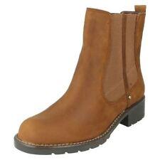 Calzado de mujer Botines color principal marrón talla 41