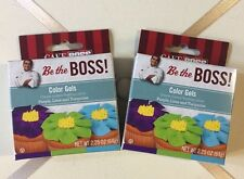 Cake Boss Color Gels Cupcake Decorations Create Frosting Colors BRAND NEW LOT 2