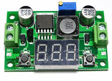LM2596S - Regulador De Tensión DC / DC Con Voltímetro. 1,25VDC-37,00VDC-2A