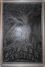 Primus 2017 Atlanta Ga Screen Print Poster David Welker Signed #d/250 Tabernacle
