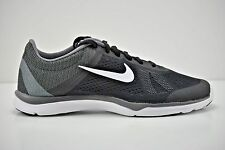 Womens Nike In-Season TR 5 Running Shoes Size 10 Black White Grey 807333 001