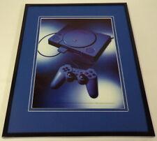 1998 Playstation PS1 System Framed 11x14 ORIGINAL Vintage Advertisement