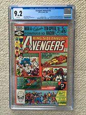 AVENGERS ANNUAL #10 CGC 9.2 NM- 1ST ROGUE X-MEN MICHAEL GOLDEN SUPER HOT BOOK