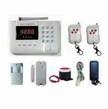101 Zones GSM/PSTN/SMS/Call Voice Smart Wireless Home Alarm Security System L11