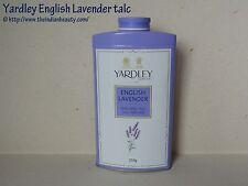 A 1  2 Tins of  Yardley Talc Powder Lavender 250 gms/ 8oz