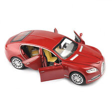Alloy Diecast Car 1/32 Bugatti Veyron Red Vehicle W/light&sound For Gift Toy