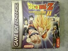 DRAGONBALL Z IL DESTINO DI GOKU II 2 GBA GAME BOY ADVANCE PAL ITALIANO COMPLETO