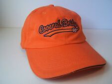 Covered Bridge Hat Orange Strapback Baseball Cap