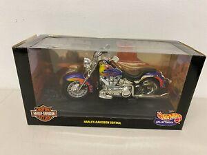 Harley Davidson Softail Hot Wheels 1:10 2000 29063