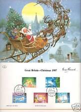 GREAT BRITAIN - CHRISTMAS 1987: Santa & Reindeer Toys