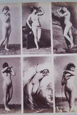 CALAVAS ETUDE DE NUS  TIRAGE ALBUMINE ALBUMEN VINTAGE PRINT 1880 PEINTURE ref9
