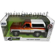 Jada 31591 Just Trucks 1980 Chevy Blazer K5 1/24 Diecast Model Copper / White