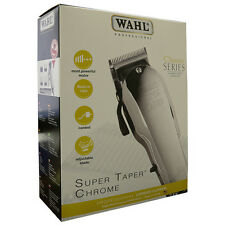 Wahl Professional 8463 Classic Series Super Taper Chrome Corded Salon Clipper
