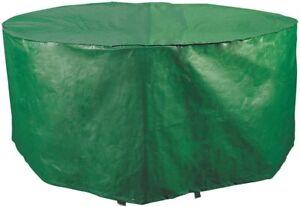 4 - 6 Seat Outdoor Table Cover Waterproof 128cm Diameter 50inch Diameter Cover