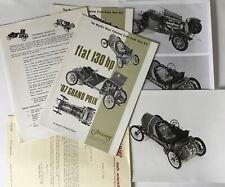 Sinclair's Auto miniatures Catalog Advertising Photo's Letters Instructions