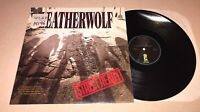 Leatherwolf Street Ready 1989 Orginal LP GOLD STAMP PROMO Island 7910721 VG+/VG+