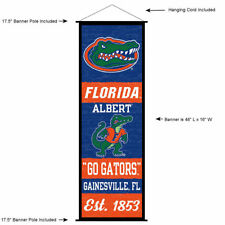 NCAA Florida Gators 2-Sided 28-by-40 inch House Banner Albert Logo with Pole Sleeve