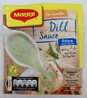 (7,88€/1L) Maggi Für Genießer 5 x Dill Sauce fettarm unter 1,5% Fett