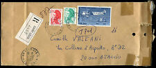 France 1987 registered cover #C38762