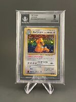 Dragonite - Fossil Japanese Holo - Graded BGS 9 - Pokemon Card Mint