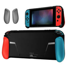 Protect Soft TPU Case Shell For Nintendo Switch NS Handle Grip w/ Game Card Slot