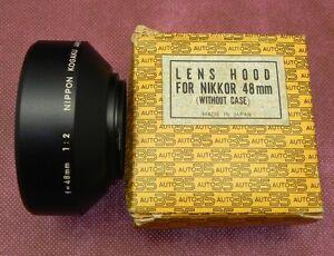 Nikkor 48mm f2 Hood (40.5mm screw thread)  .......... LN