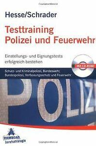 Testtraining Polizei und Feuerwehr: Schutz- und Kriminal...   Buch   Zustand gut