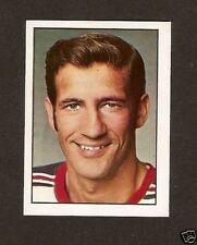 Jean Ratelle 1972-73 Hockey Sticker Card Europe