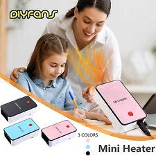 Familien Mini Elektroheizung Warm Space Desktop Winterluftwärmer Lüfter
