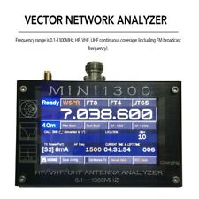 "Mini1300 HF/VHF/UHF Antenna Analyzer 0.1-1300MHz with 4.3"" TFT LCD Touch Screen"