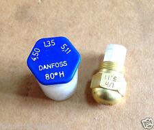 DANFOSS Olio UGELLI 80*H KG/H 4,50 gal/h 1,35 L/H 5,11