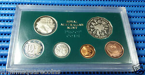 1982 Australian Proof Coin Set (1982 Commonwealth Games 50 Cent Coin)
