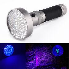 100 LED UV Light 395-400nm Violet Flashlight Practical Detection Torch Lamp
